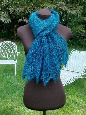 peacock knitting pattern scarf peacock jewel scarf allfreeknitting com
