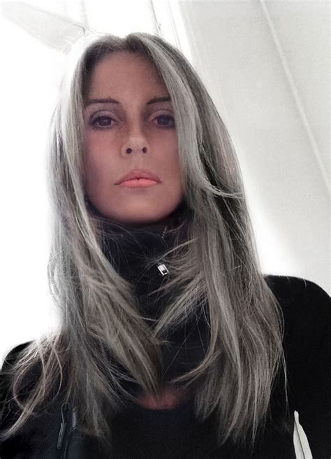 looking with grey hair 136 best images about badass grey hair on pinterest