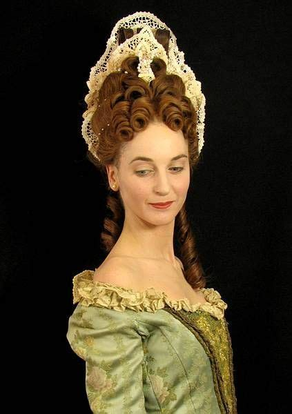 renaissance hairstyles history late baroque commode hairstyle google 搜索 costume