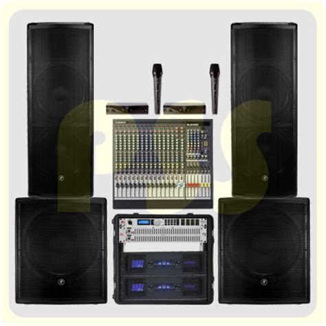 Paket Sound System Outdoor Dan Indoor 15 Inch Aktif Original paket sound system outdoor mackie paket sound system profesional indonesia