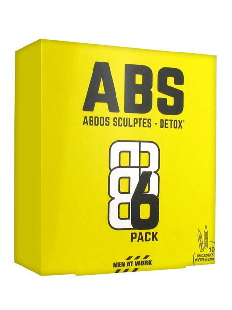 Abs Detox by Abs Abdos Sculptes Detox 6 Pack 10 Unicadoses Buy At Low