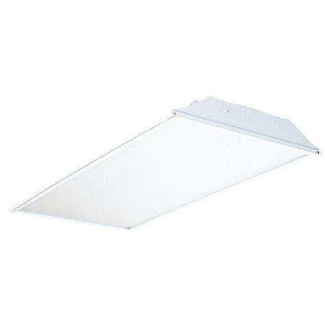 1 x 4 recessed fluorescent light lithonia lighting 2 ft x 4 ft 3 light white multi volt
