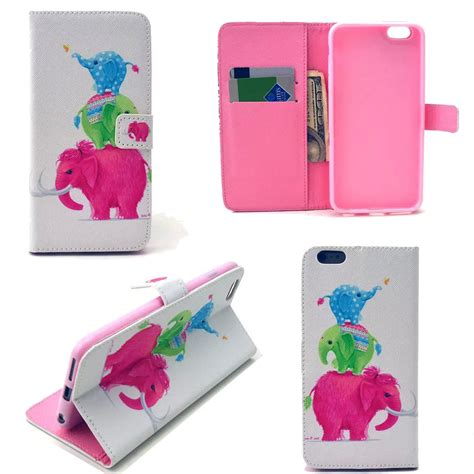hybrid flip wallet pattern leather stand card holder cover for iphone phone ebay