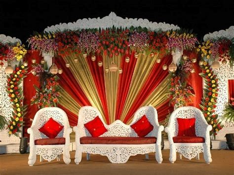 centerpieces with photos most beautiful wedding stage decoration ideas designs 2015