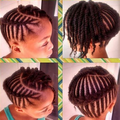 african big twists natural hairstyles for kids african braided cornrow hairstyles for little girl