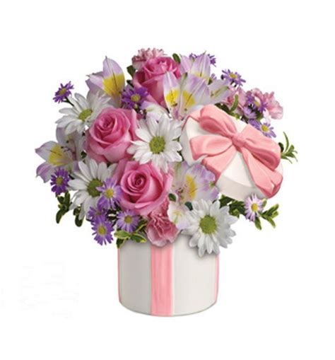 Flower Gift by Hats To Flowers Gift Hers