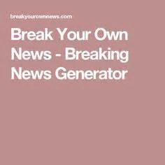 Abcya Educational Computer Games And Apps For Kids Breaking News Generator