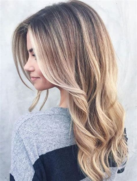hairstyles for long hair balayage natural blonde balayage hairstyles ideas for long hair