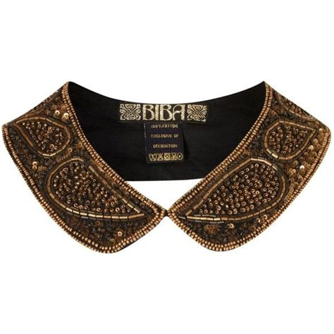 embroidered collars biba embroidered neck collar i like it