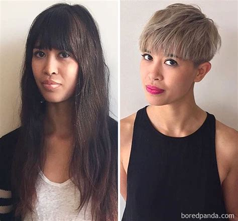 extreme haircuts before and after 75 before after pics of extreme haircut transformations