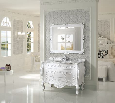 Victorian Style Bathroom Vanities Single Bathroom Vanities Antique Inch Antique White Single