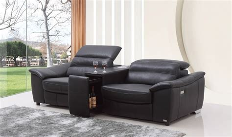 contemporary leather reclining sofa contemporary reclining leather sofa tedx decors the