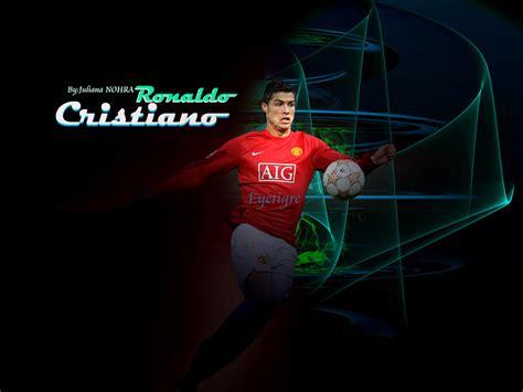 Gambar 3d Football ronaldo 7