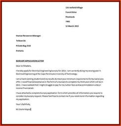 Template Cover Letters For Applications by 11 Sle Of Motivation Letter For Bursary Receipts Template