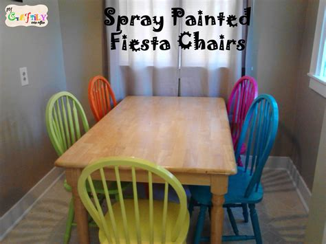 Spray Painting Dining Room Chairs by Dining Table Dining Table With Multi Colored Chairs