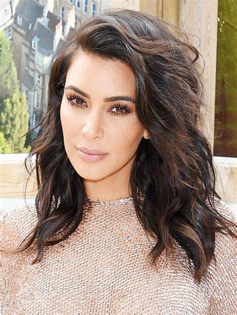pinterrst kim kardshian bob haircut pinterest long bob hairstyles kim kardashian