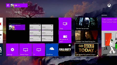 one home customizing my xbox one home screen