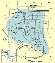 permian basin map permian basin america