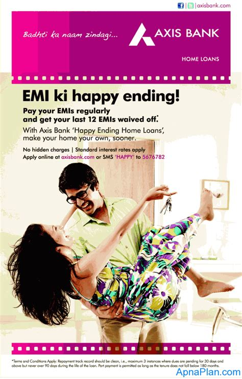 axis housing loan axis bank happy ending home loan review