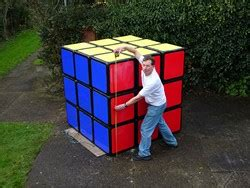 1 57m in feet and inches tony fisher s largest rubik s cube puzzle in the world 5