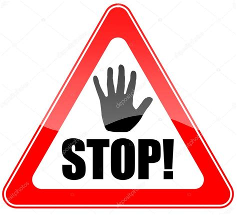 Stop With The by Stop Sign Stock Photo 169 Arcady 9653202
