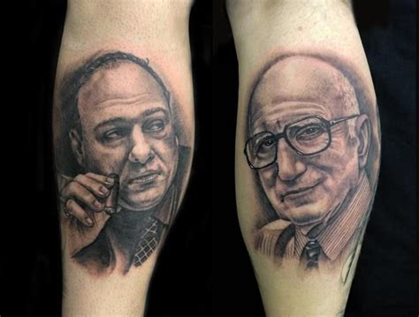 tony soprano tattoo tony junior the sopranos tattoos the