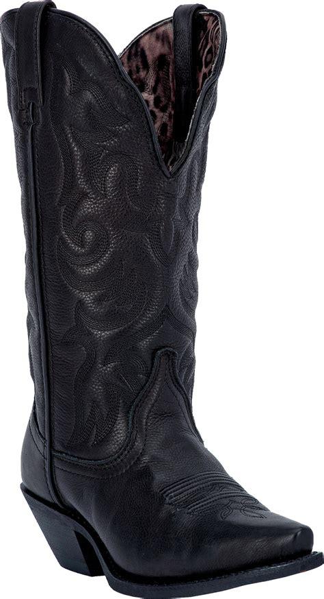 black cowboy boots laredo s access black dip cowboy boot