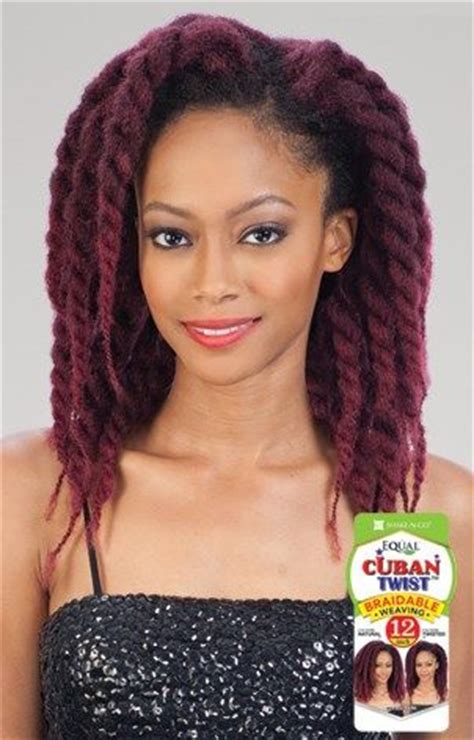 black cuban twist hair cuban twist weave 12 quot available colors 1 1b 2 27 30