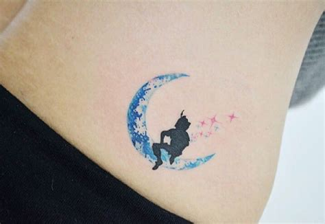 peter pan ear tattoo 27 minimalist pan tattoos to remind you to never