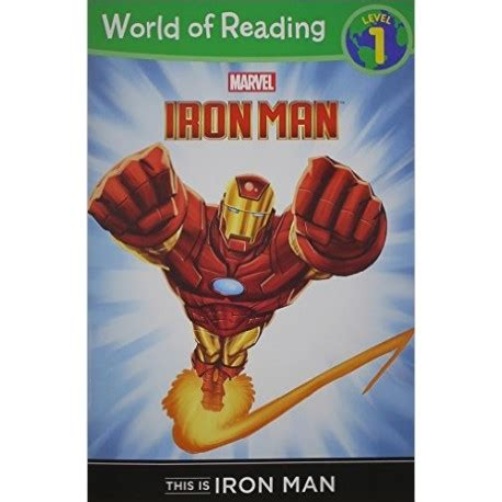 world of reading this is iron man review ironman iron man world of reading level 1 english wooks