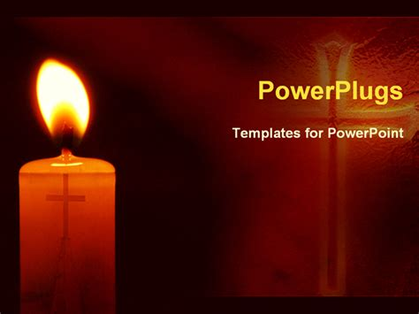ppt templates for religion candle background powerpoint images
