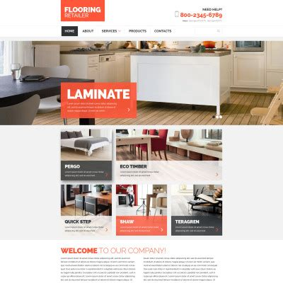 floor and decor website flooring templates templatemonster