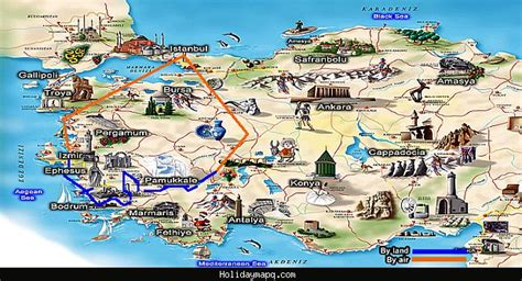 antalya map tourist attractions turkey map tourist attractions holidaymapq