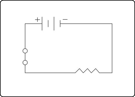 what do the lines represent what does the zigzag line in the circuit diagram represent