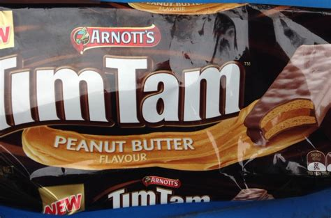Timtam Peanut Butter pb tim tams new tim tams peanut butter image 1
