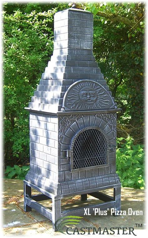 chiminea pizza outdoor pizza ovens castmaster outdoor xl plus pizza