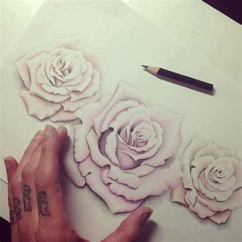 negative space rose tattoo this would be the only way id get a tattooed on me