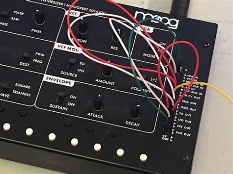 moog werkstatt 01 new moog werkstatt 01 cv patch cable set of 25 patch