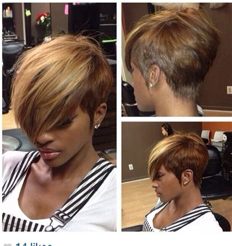 black women short hair style cut like 27 piece 1000 images about hair weave on pinterest different