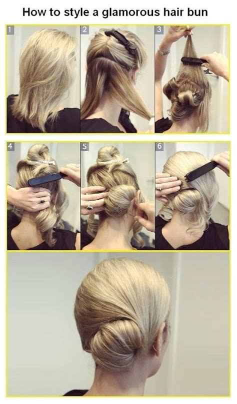 diy hairstyles side bun diy hair bun tutorial pictures photos and images for