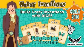 Nerdy Invention By Mayday Boardgame kickstarters of the week 7 4 board quest