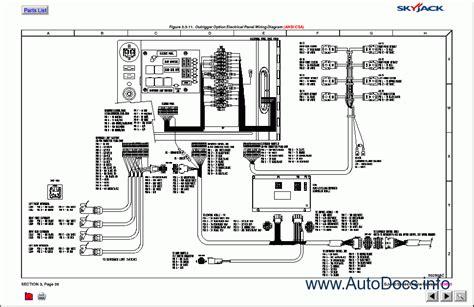 skyjack lifts parts catalog repair manual order