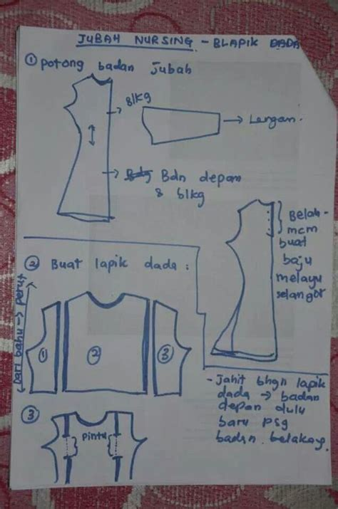 tutorial jubah a cut how to sew nursing jubah sewing tips pinterest sew