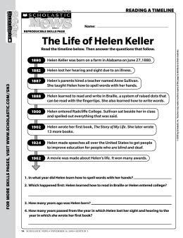 dk biography helen keller chapter summaries hellen keller 180 s biography 1880 1968