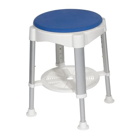 Padded Stool by Drive Bath Stool With Padded Rotating Seat Rtl12061