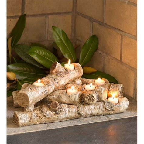 candle fireplace insert best 25 candle fireplace ideas on fireplace