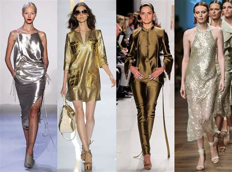 Is This A Trend by Metallic The Trend To Wear This Season Fashion