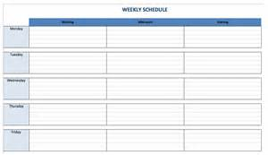 Schedule Maker Template by 10 Glorious Class Schedule Makers College More