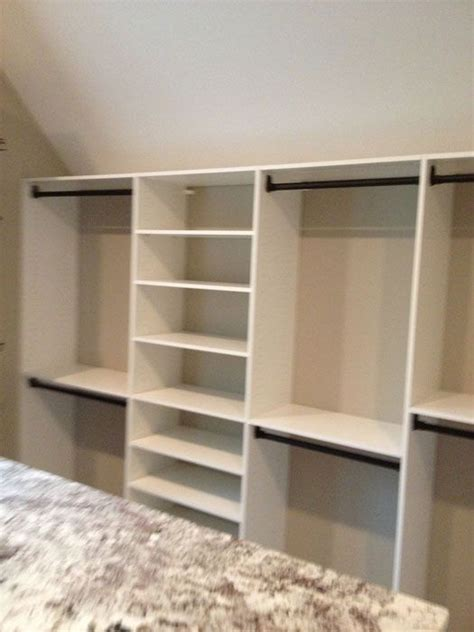 Kids Bedroom Organization Ideas slanted ceiling closet working with sloped ceilings in