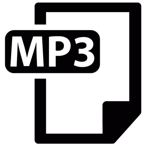 format mp3 mp3 file format vector icon free download vector logos